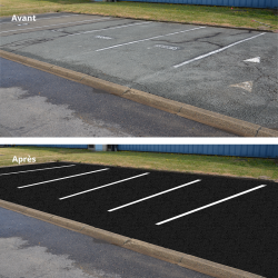 utilisation ampere black parking